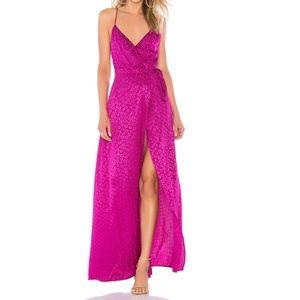 MAJORELLE Cubano Maxi Dress | Magenta
